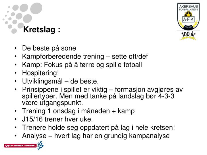 Kretslag :
