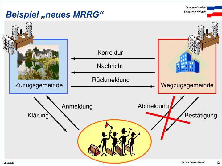 """Beispiel """"neues MRRG"""""""