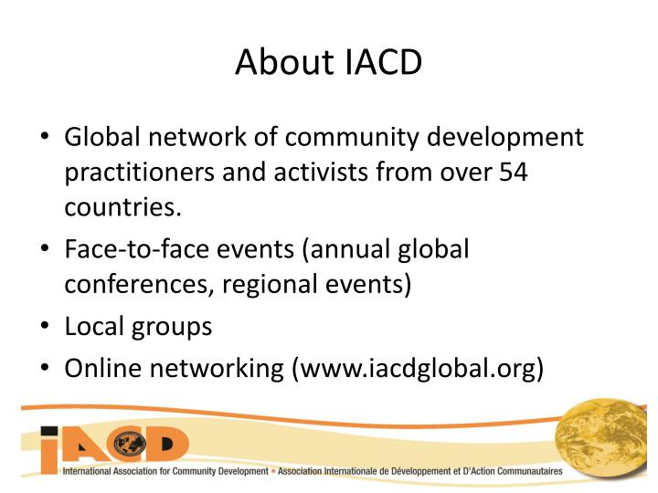 About IACD