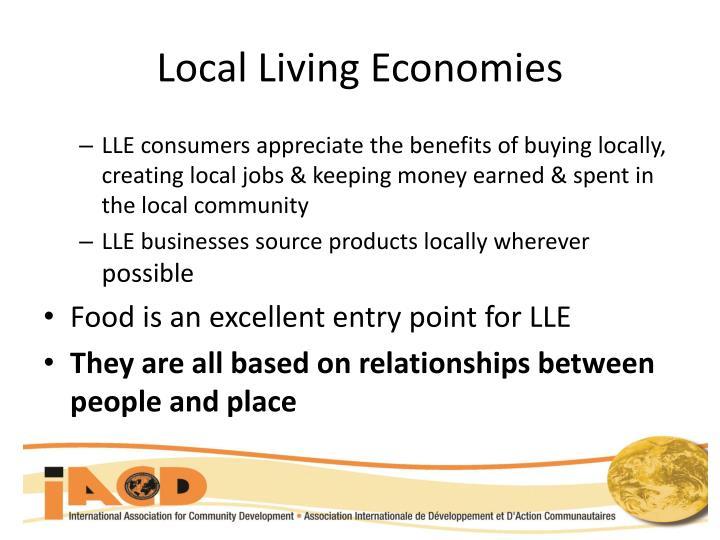 Local Living Economies