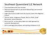 southeast queensland lle network