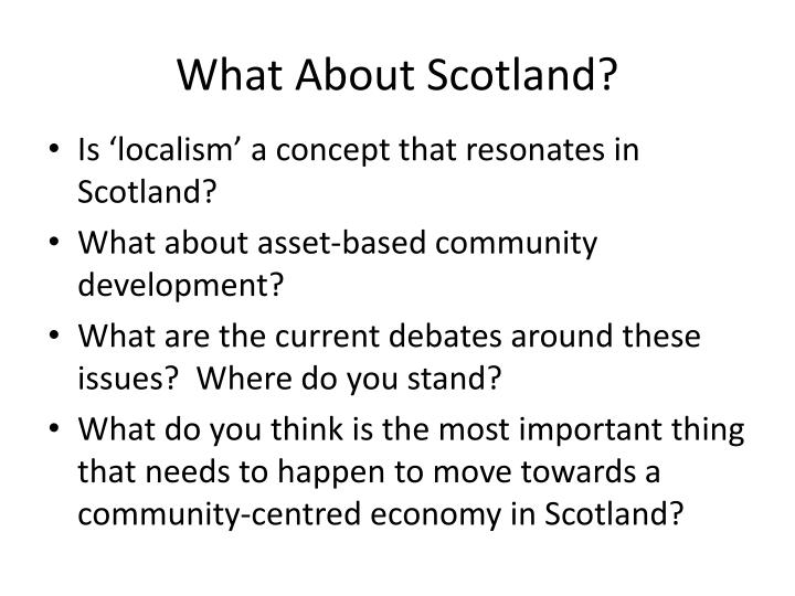 What About Scotland?