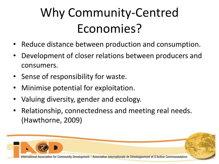 Why Community-Centred Economies?