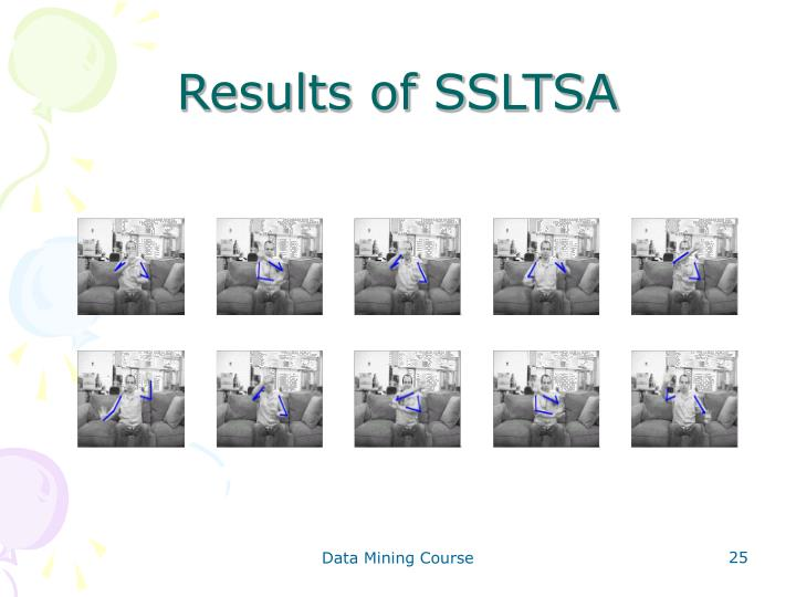 Results of SSLTSA