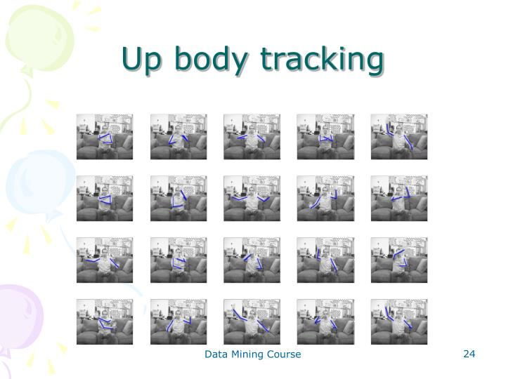 Up body tracking