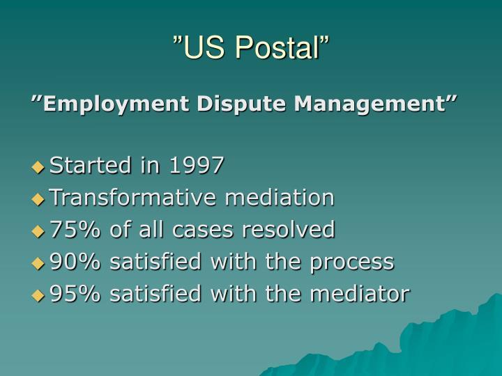 """""""US Postal"""""""