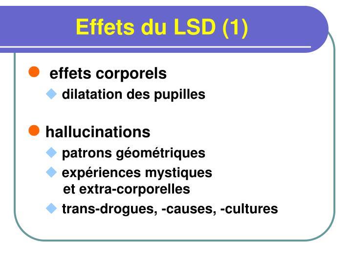 Effets du LSD (1)