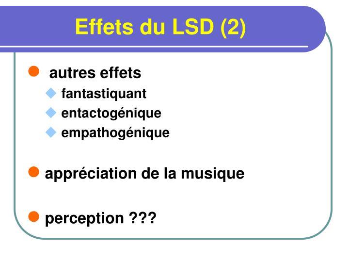 Effets du LSD (2)