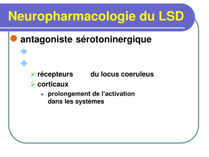 Neuropharmacologie du LSD