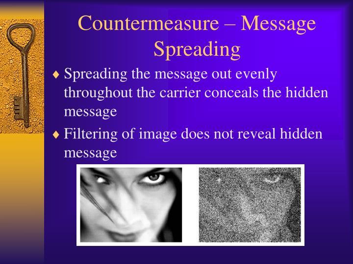 Countermeasure – Message Spreading