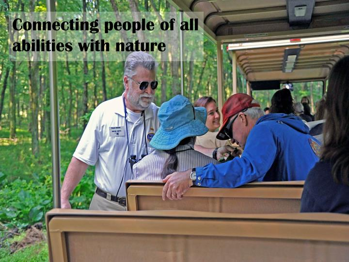 Connecting people of all abilities with nature