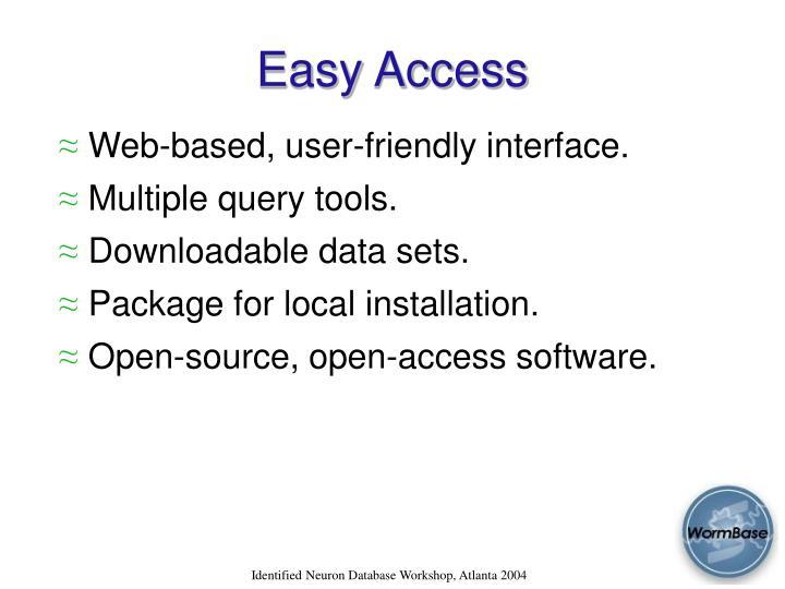 Easy Access