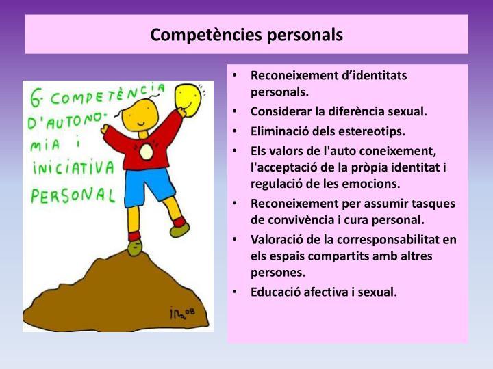 Competències personals