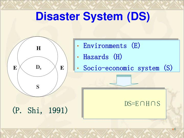 Disaster System