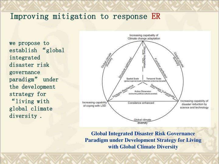 Improving mitigation to response