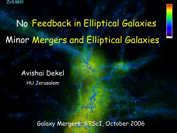 Mergers and Elliptical Galaxies