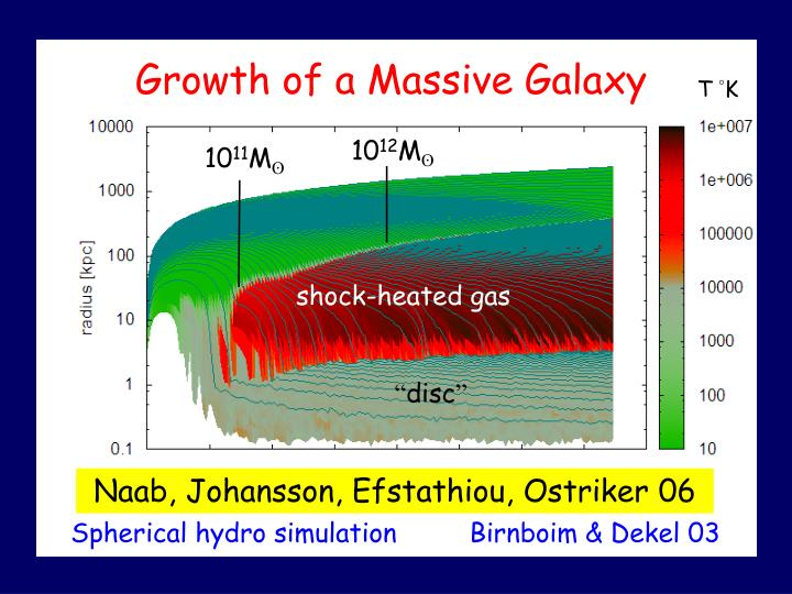Growth of a Massive Galaxy