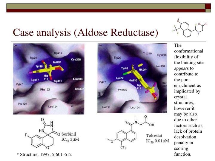 Case analysis (Aldose Reductase)