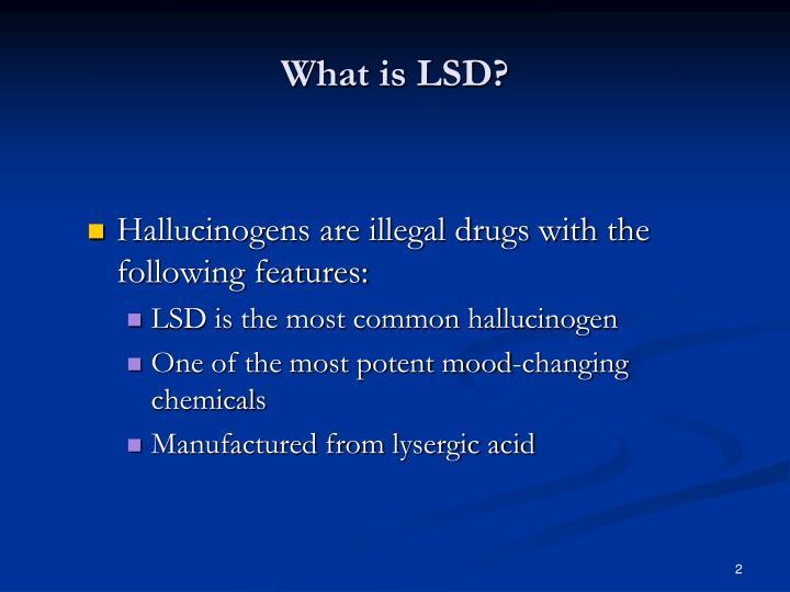 What is LSD?