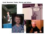 card newman tesler moran and others
