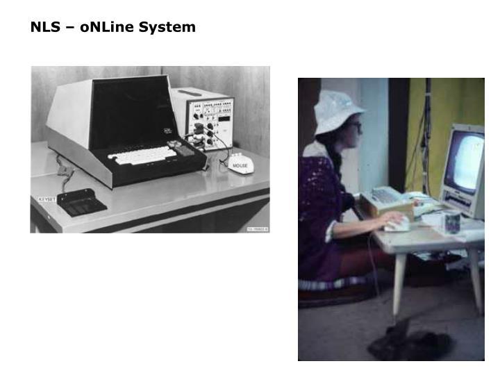 NLS – oNLine System