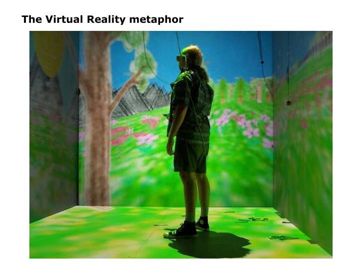 The Virtual Reality metaphor
