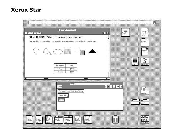 Xerox Star