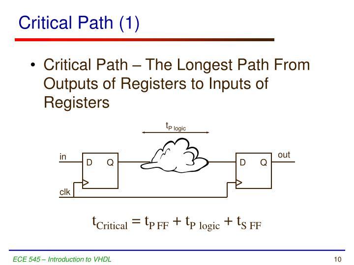 Critical Path (1)