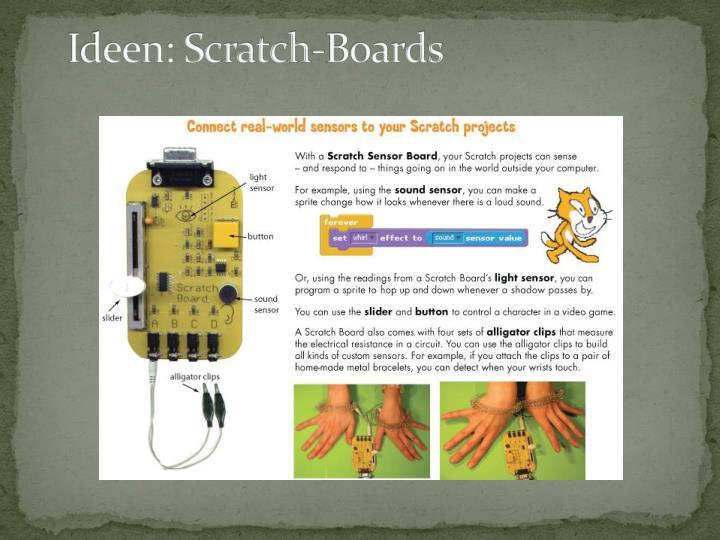Ideen: Scratch-Boards