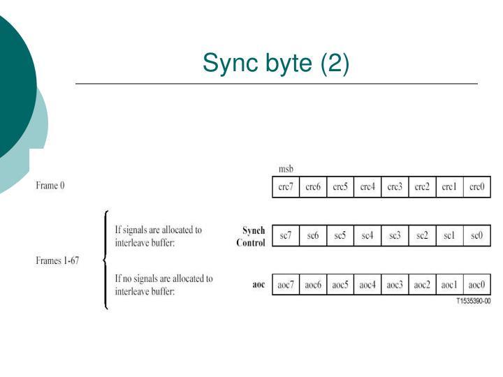 Sync byte