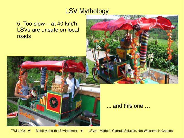 LSV Mythology