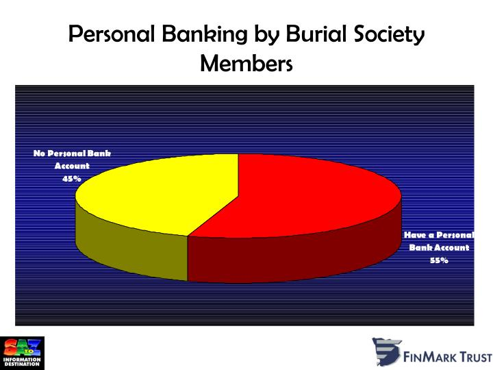 Personal Banking by Burial Society Members