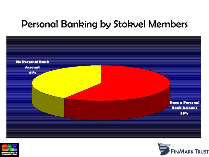 Personal Banking by Stokvel Members