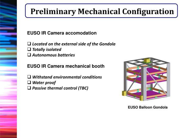 Preliminary Mechanical Configuration