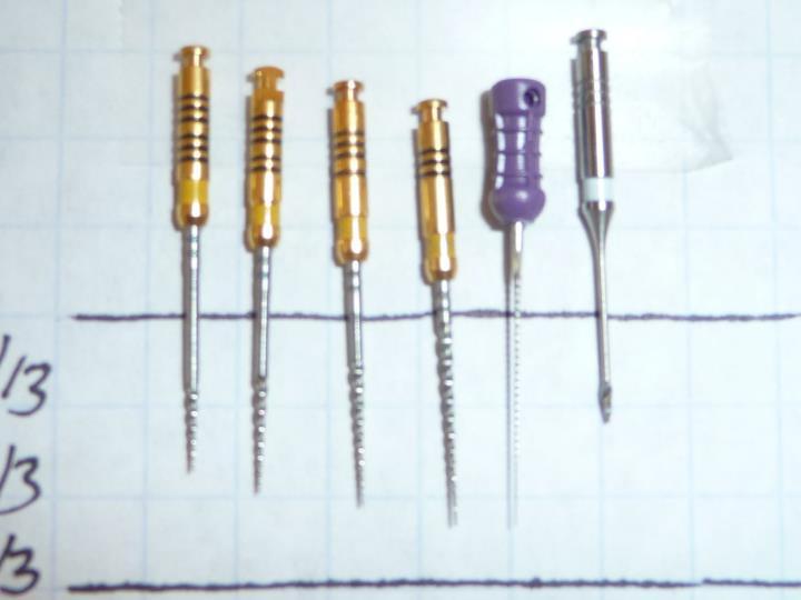 Hand Instrumentation with Nickel Titanium Files