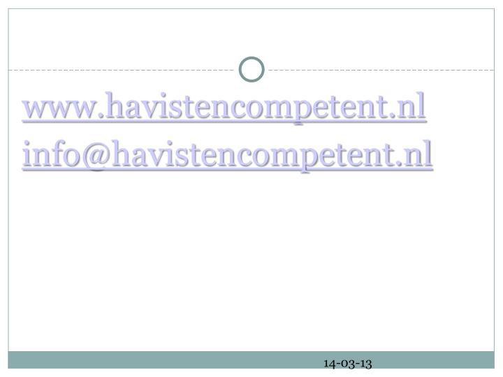 www.havistencompetent.nl