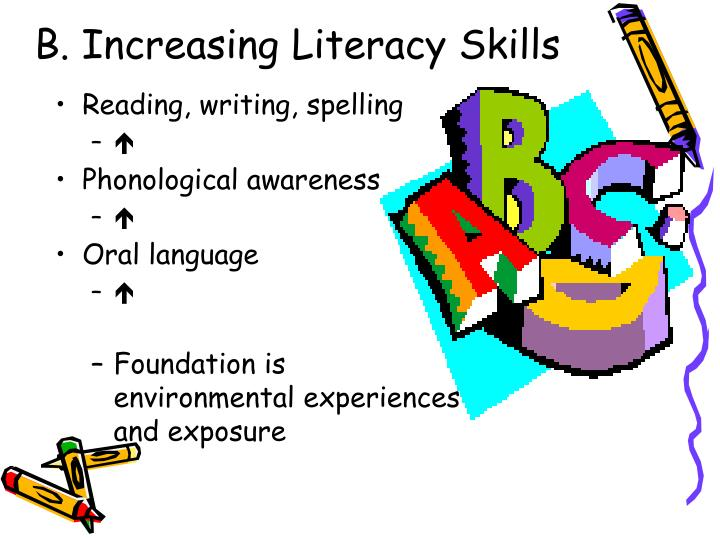 B. Increasing Literacy Skills