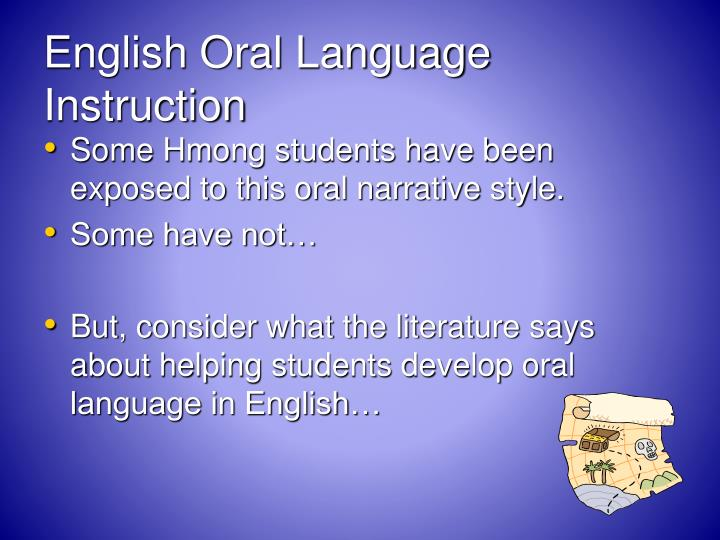 English Oral Language Instruction