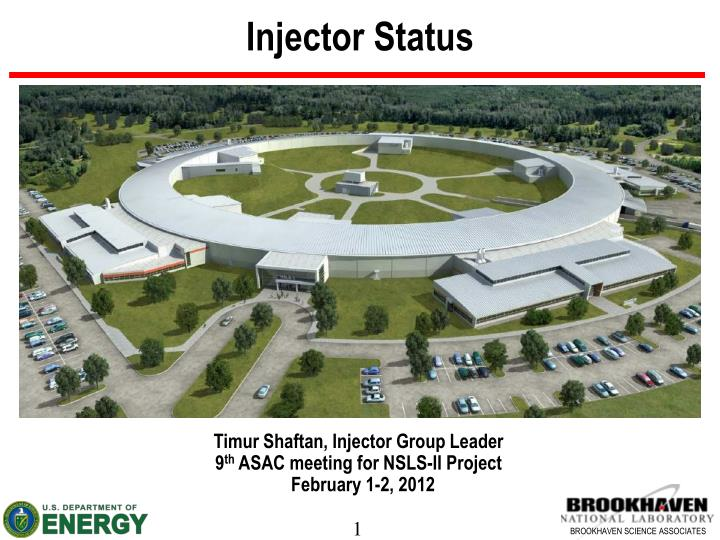 injector status