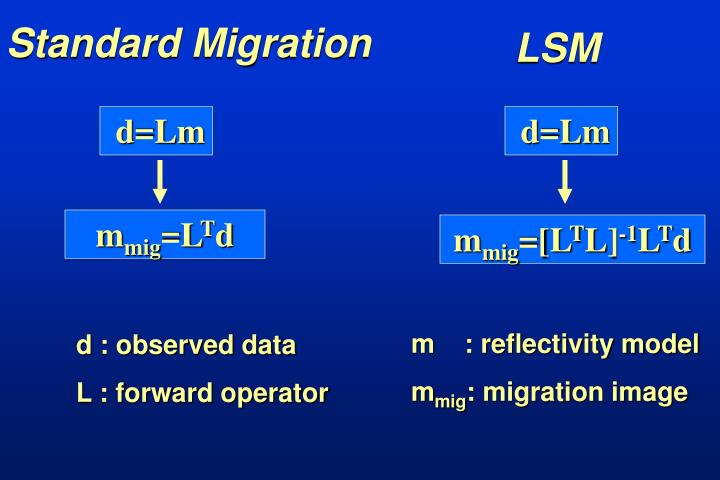 Standard Migration