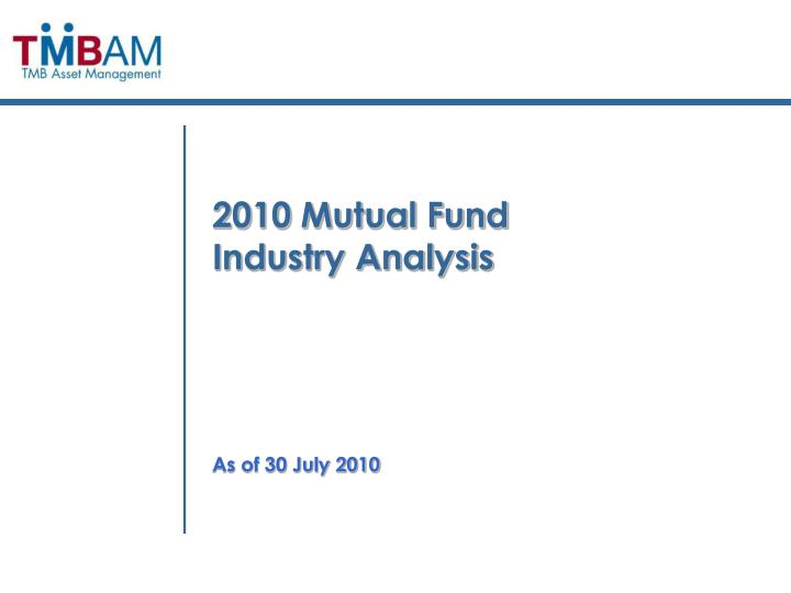 2010 Mutual Fund
