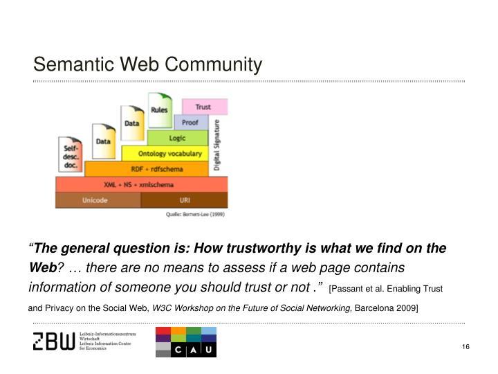 Semantic Web Community
