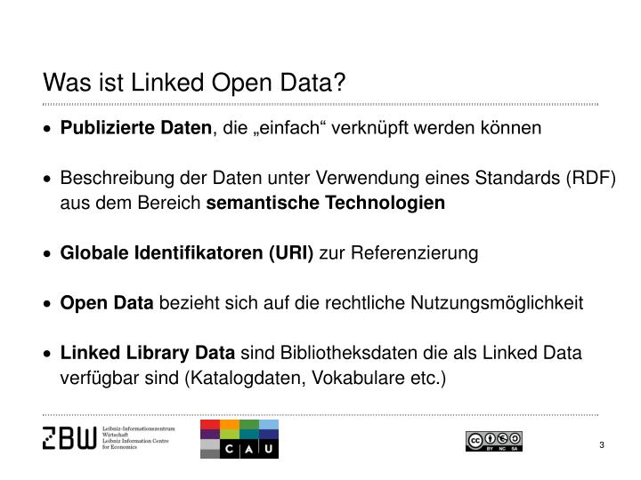 Was ist Linked Open Data?