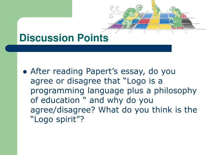 Discussion points1
