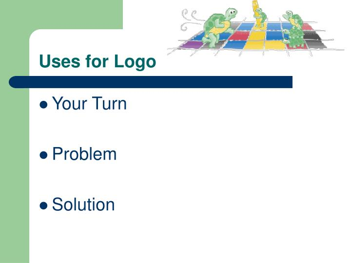Uses for Logo