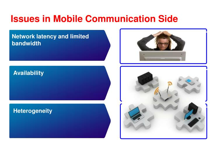 Issues in Mobile Communication Side