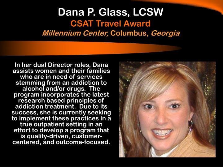 Dana P. Glass, LCSW