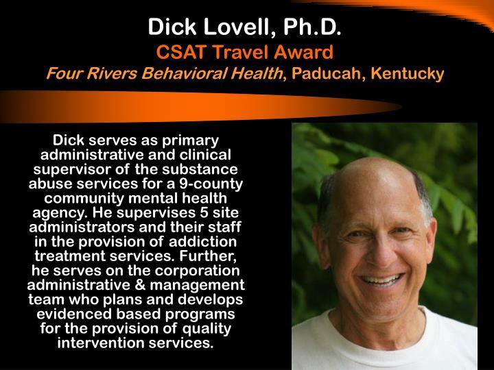 Dick Lovell, Ph.D.