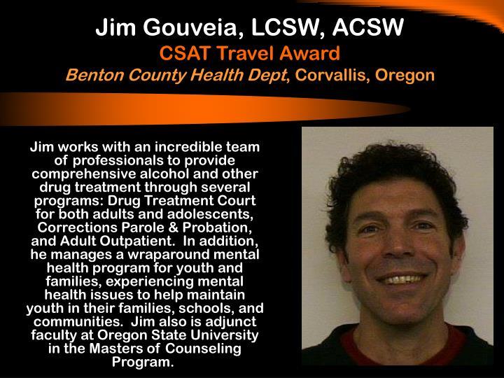 Jim Gouveia, LCSW, ACSW