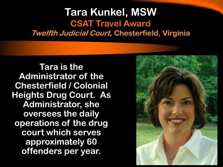 Tara Kunkel, MSW